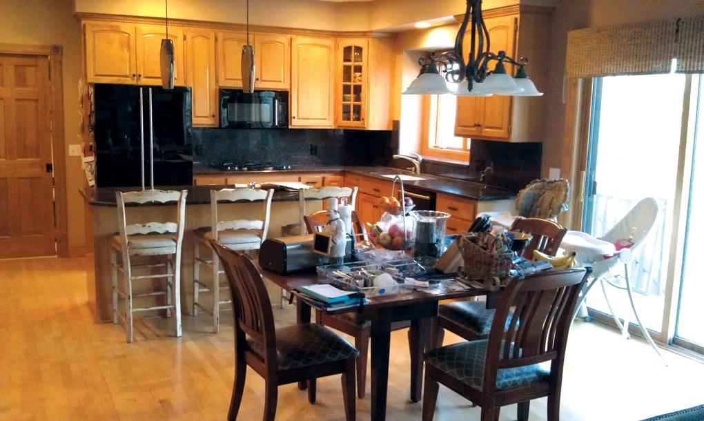 Letitia Little Interior Design Kitchen Before