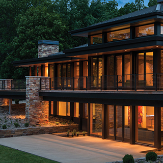 Charles R Stinson Architecture with Hage Homes