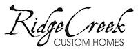 Ridge Creek Custom Homes Logo