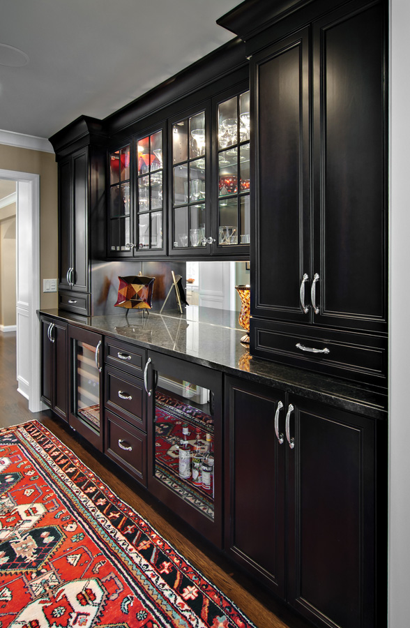 Personalized cabinetry by Carl A. Smith III