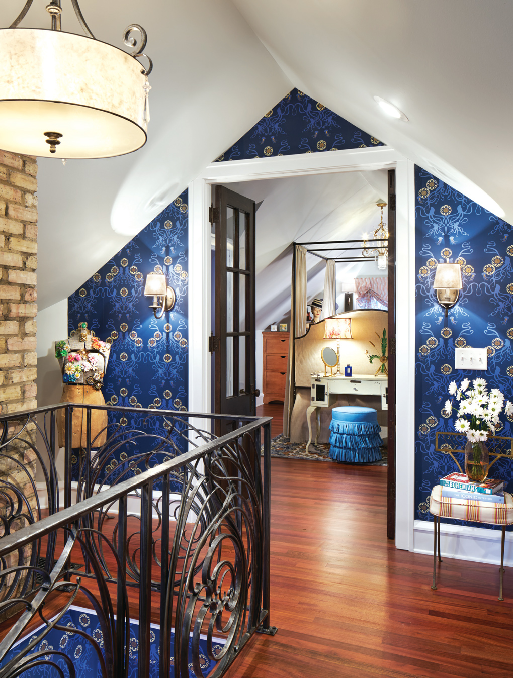 custom railings, Lisa Elias, vintage