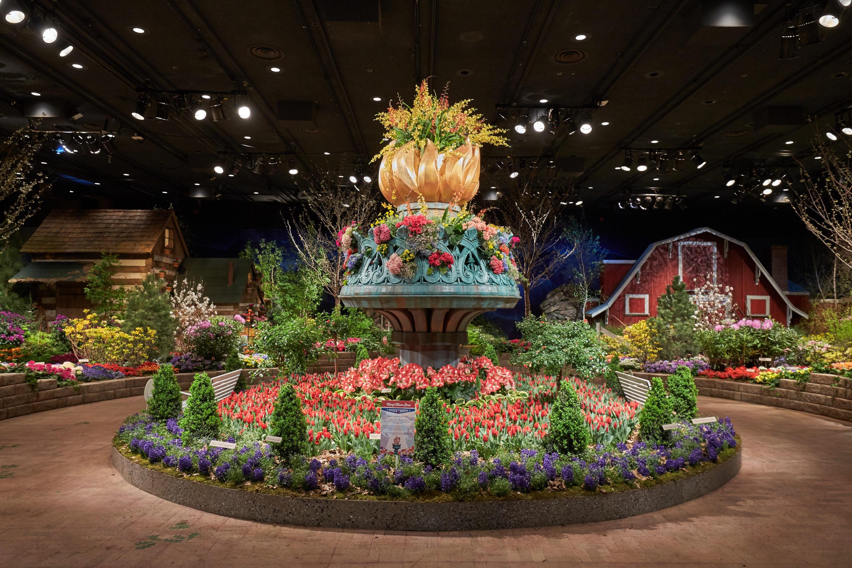 MINNEAPOLIS, MN - MARCH 20: Macy's Flowershow on March 20, 2016 in Minneapolis, Minnesota. (Photo by: Adam Bettcher for Macy's)