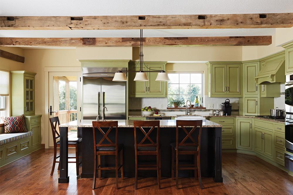 Cathrine Harrington Designs ASID Green Interior Kitchen