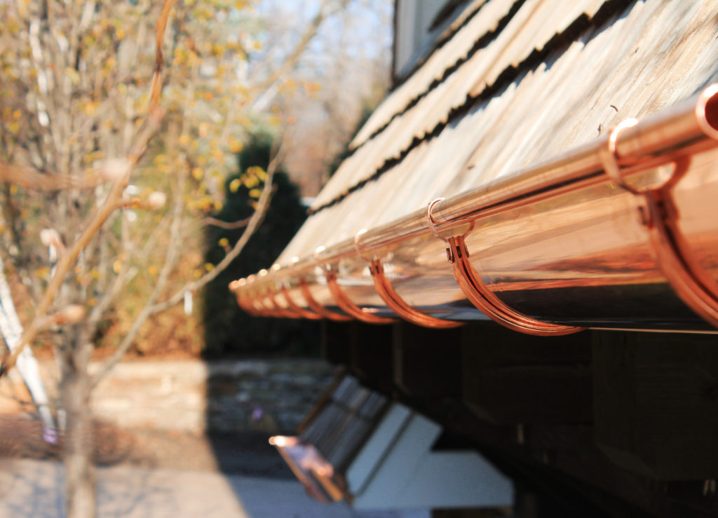CopperSmith Gutter Company Detail railing