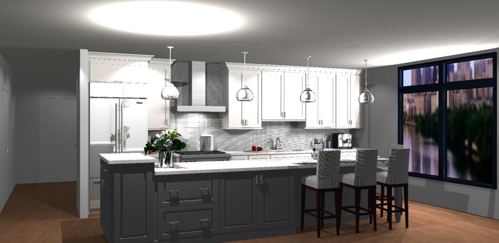 Thorsen CAD of Home Interior