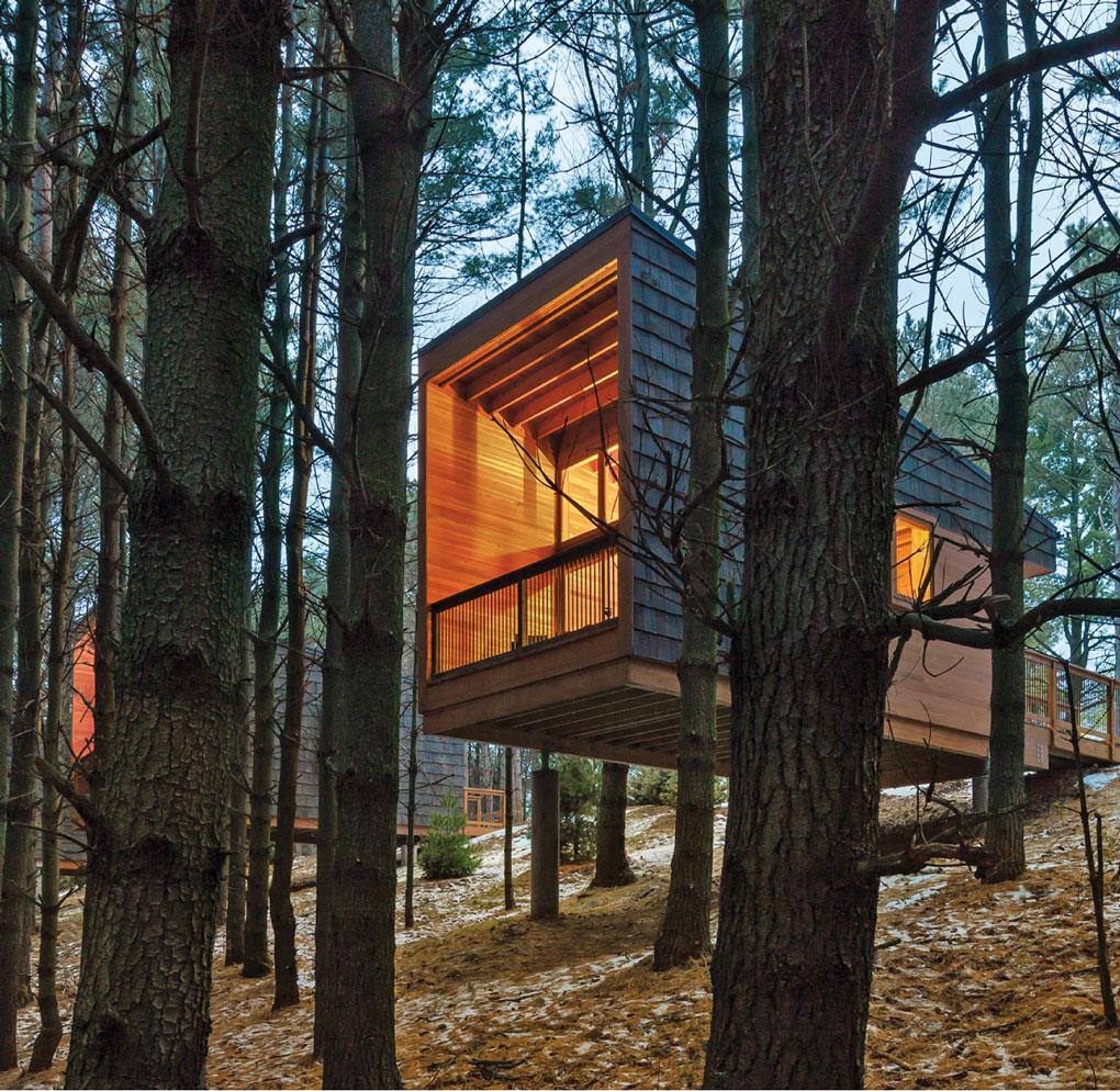whitetail woods regional park, dakota county, cabin