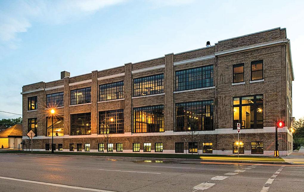 Fargo Laundry building