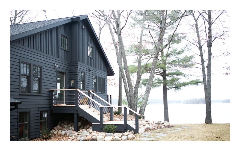 Exterior of Transformed Cabin