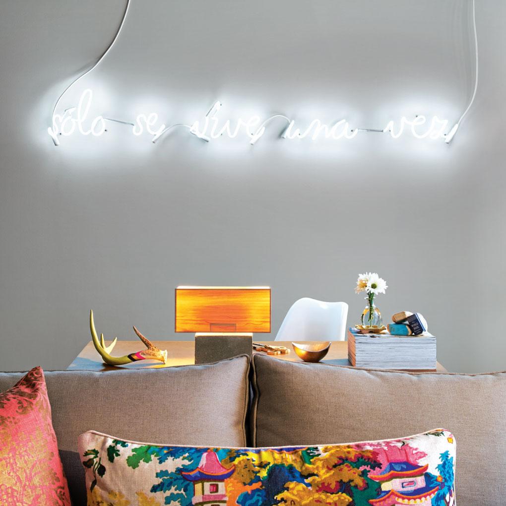 Neon Sign as Interior Décor