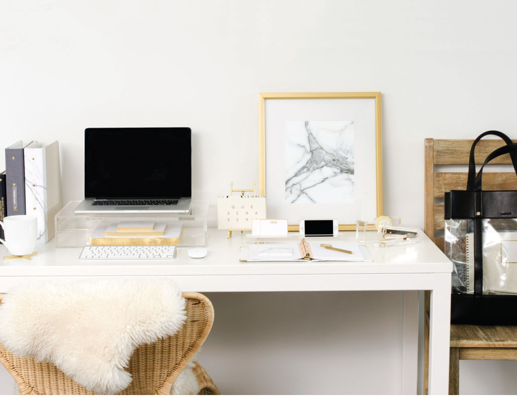Desk and Accessories at Russel + Hazel