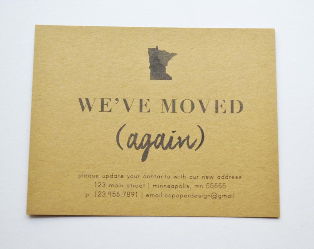 Moving Announcment