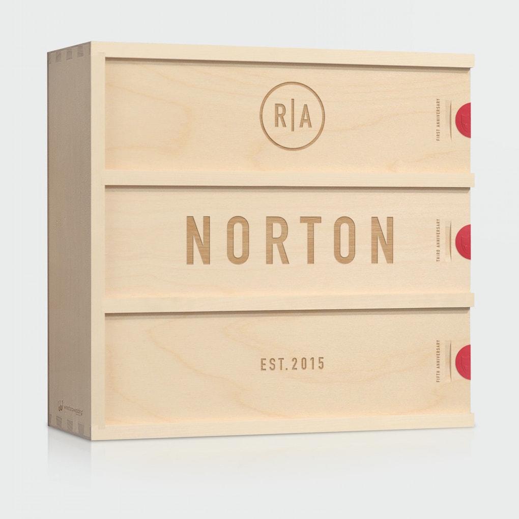 custom wine box