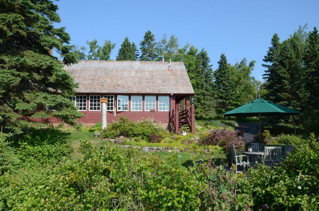 restored Lundie cabin