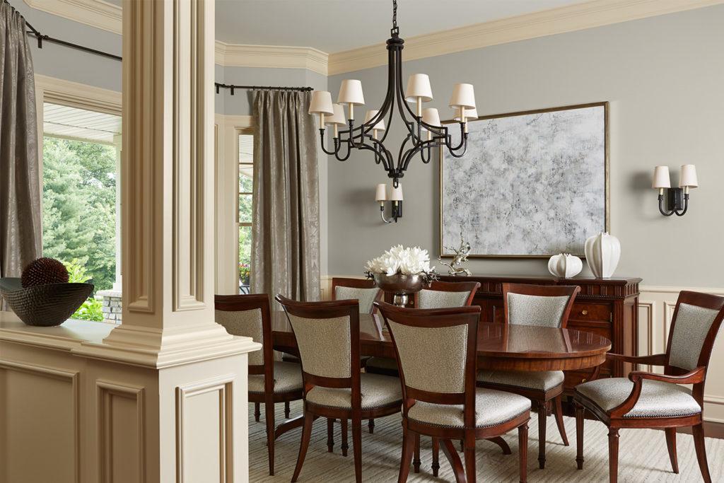 Bruce Kading Interior Design Dining Room
