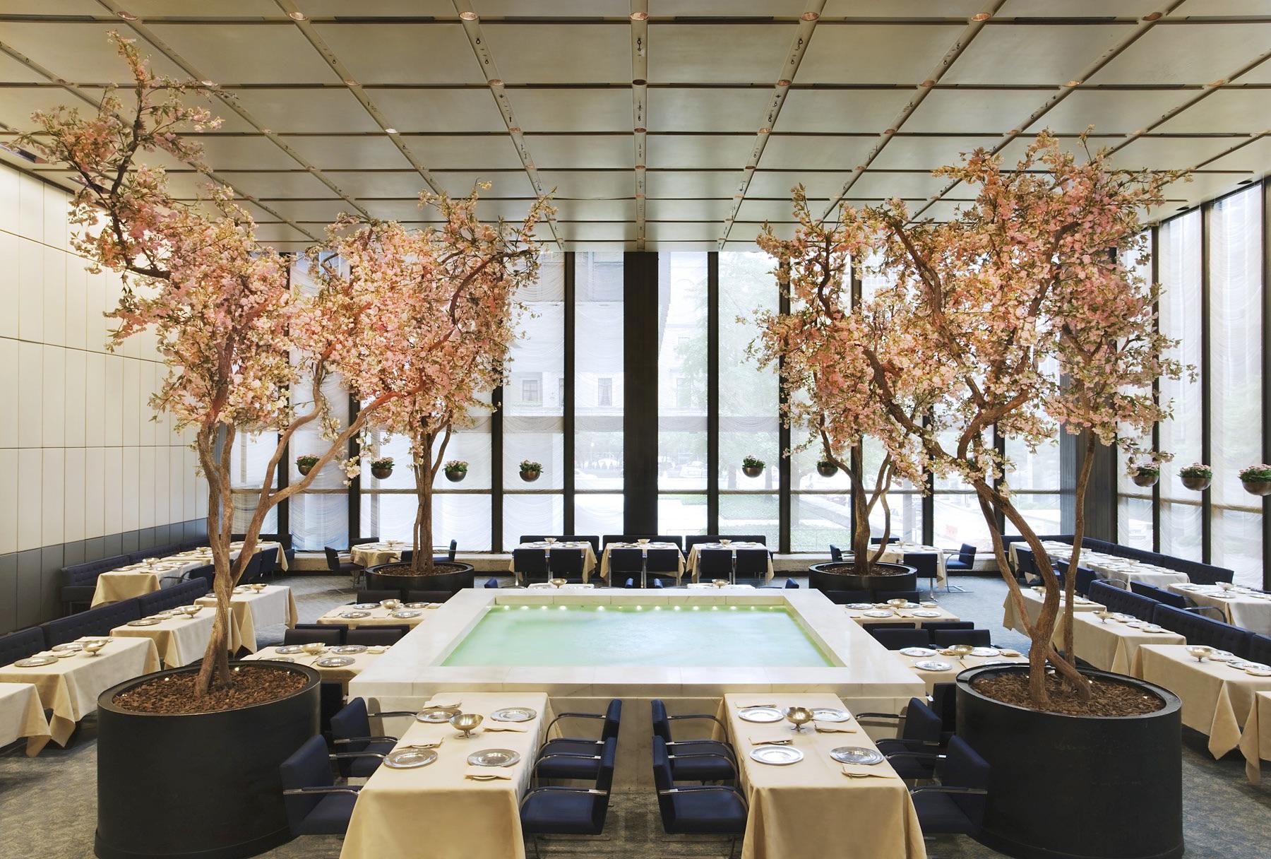 Four Seasons Restaurant Auction
