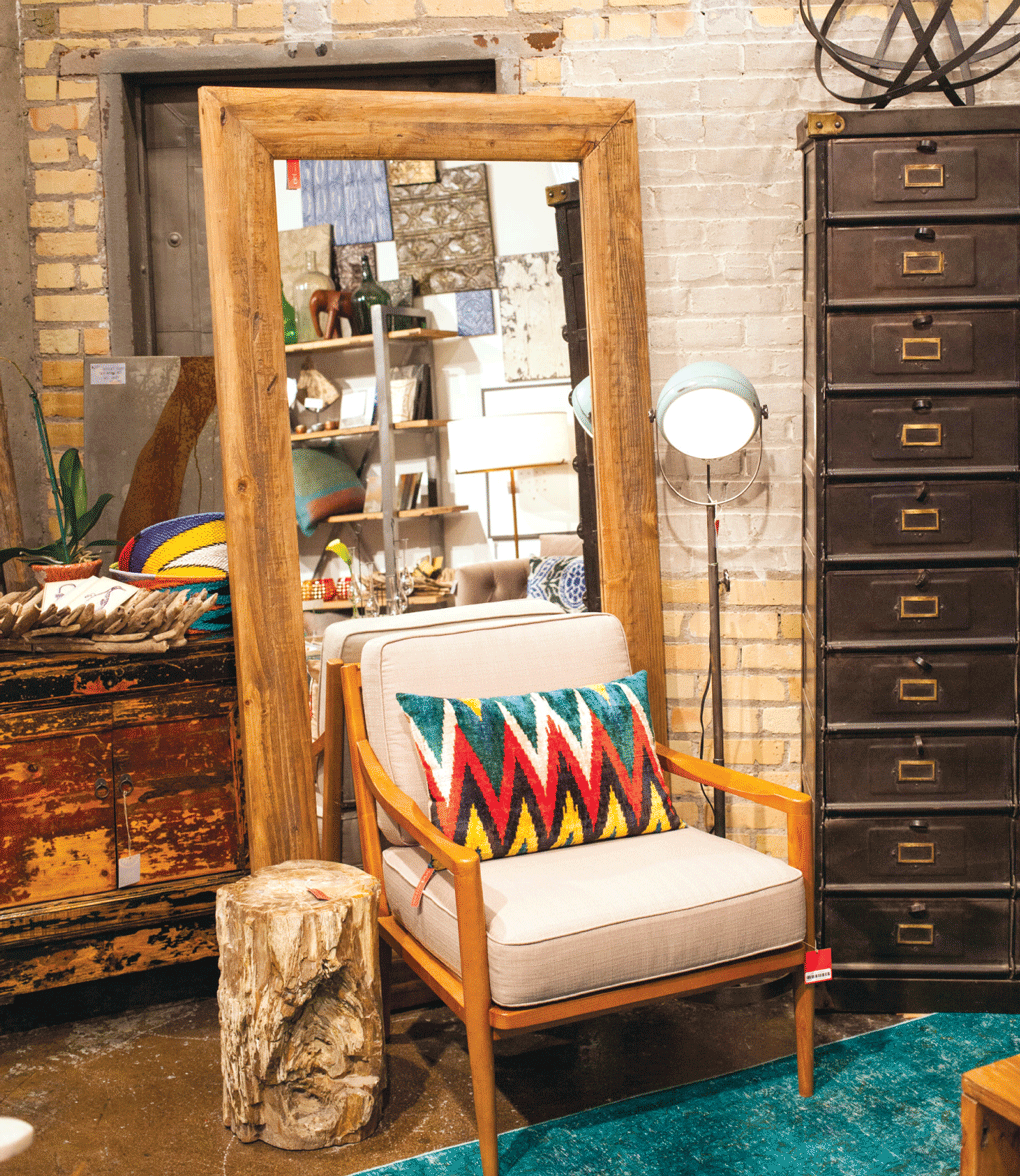 Home goods from Ciel Loft and Home's new location