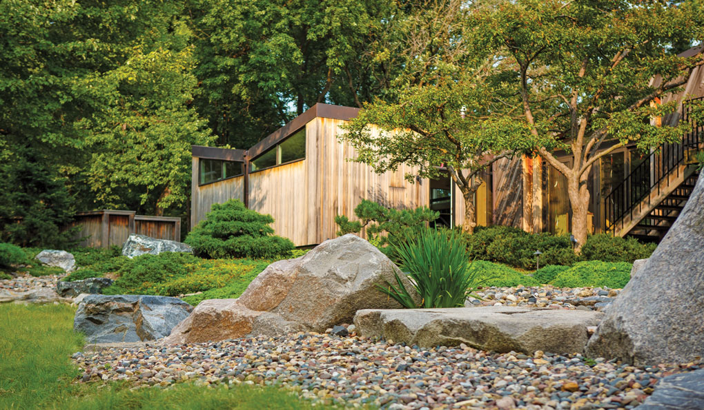 Planted Boulders