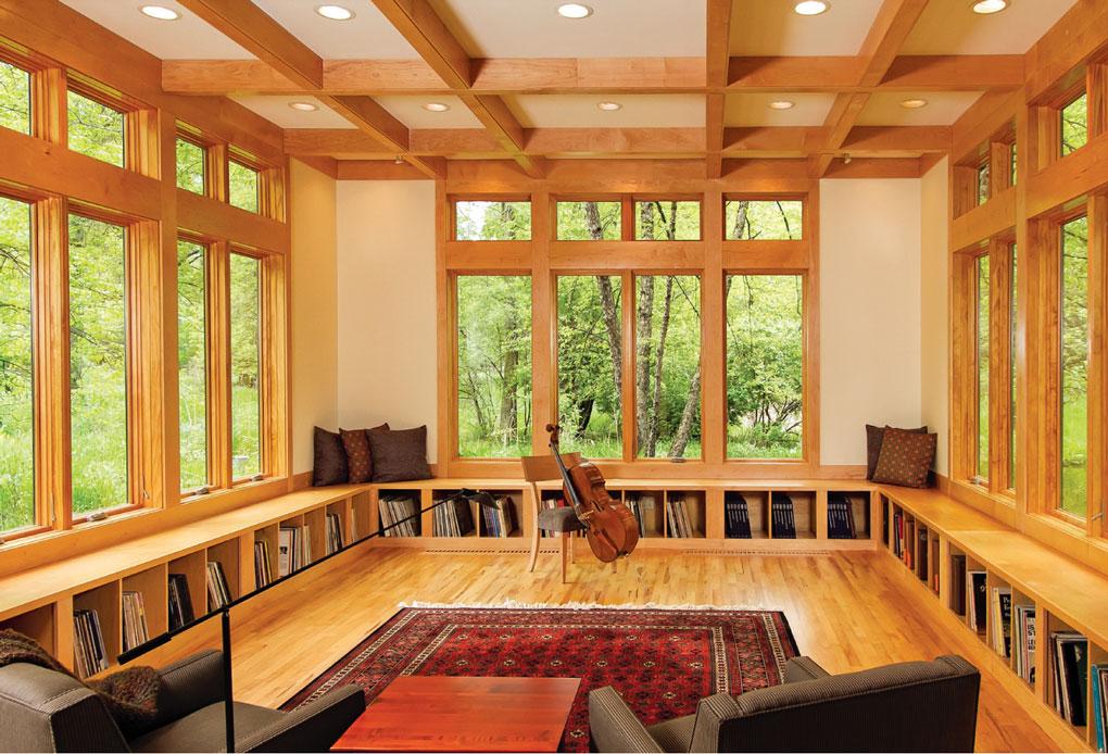 SALA House's Music Room