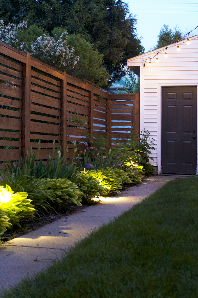small yard landscape lighting