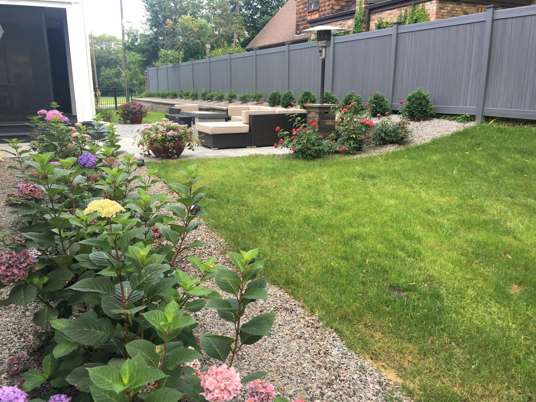 Green-Grossfield backyard