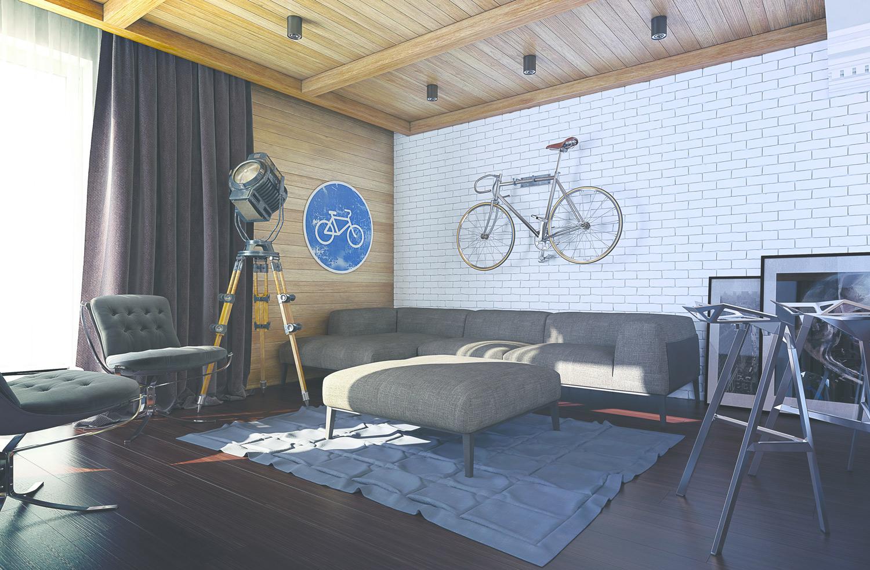 Modern Loft Apartment in Warehouse