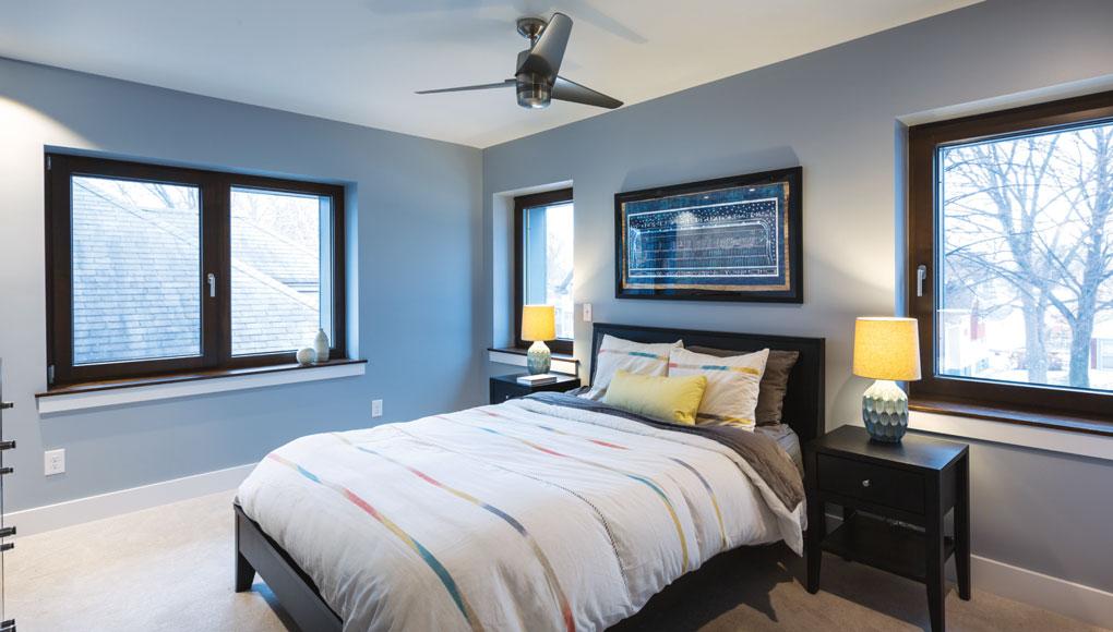 Passive House Master Bedroom