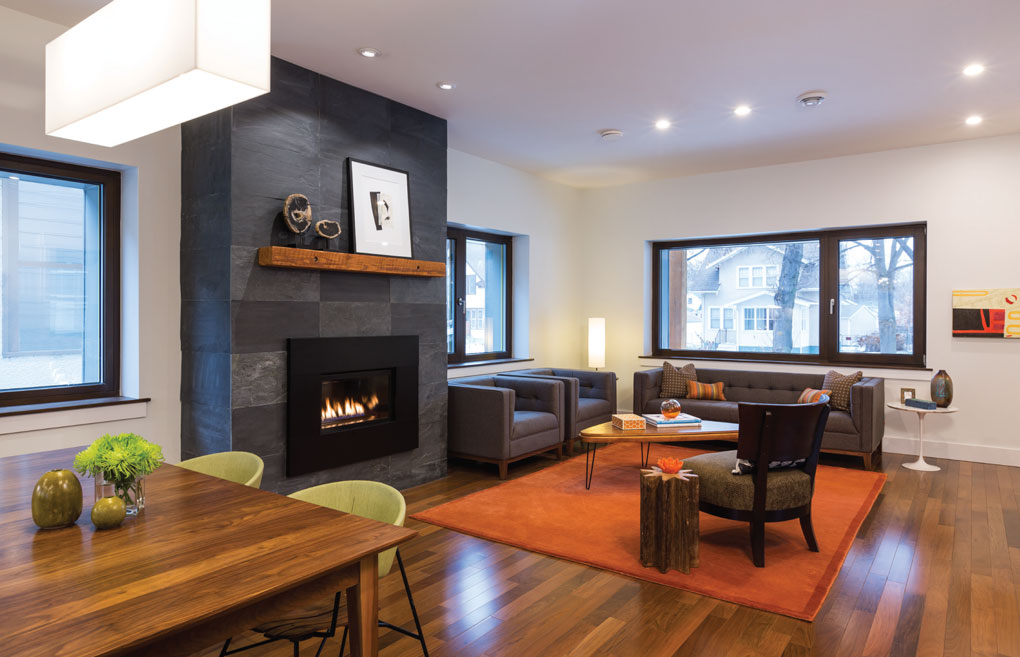 Passive House Living/Dining room