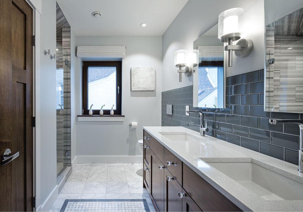 Passive House Master Bath