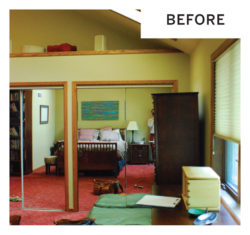 Master Suite Before Renovation