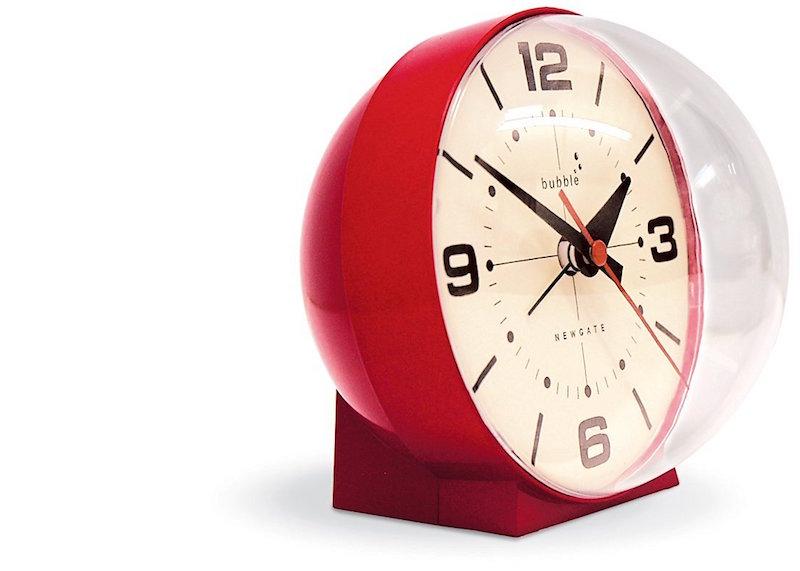 Stylish alarm clocks