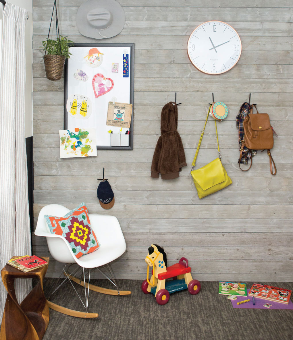 Downsized play room