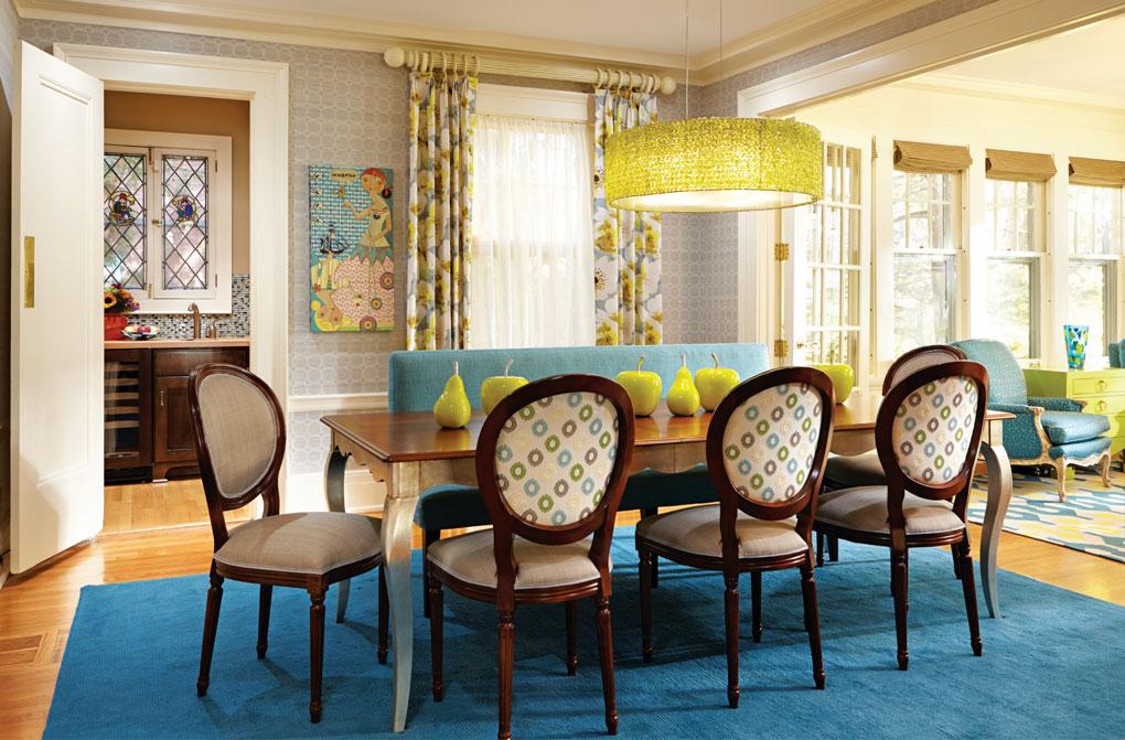 LiLu Interiors Dining Room