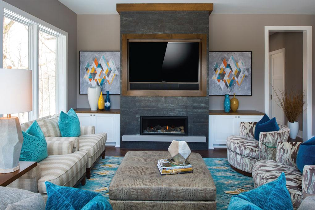 Studio M Interiors Living Room