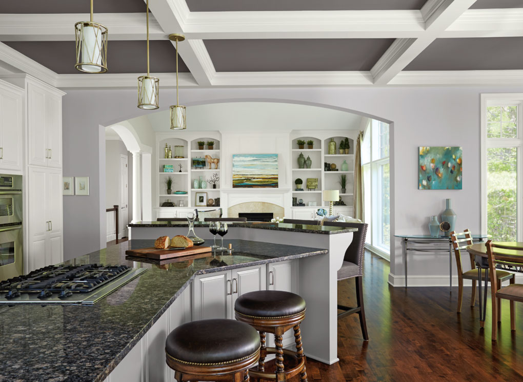 Kitchen with open layout