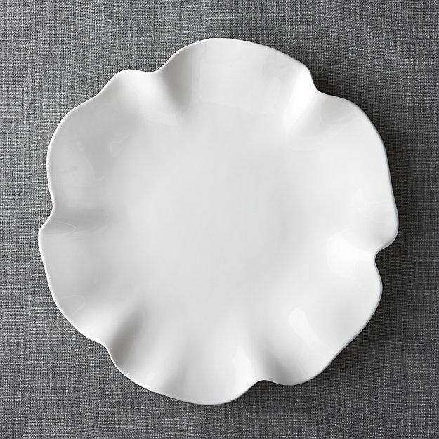 white platters