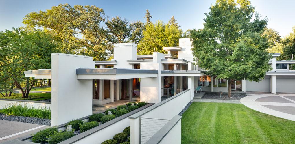 Charles Stinson designed home on Lake Harriet