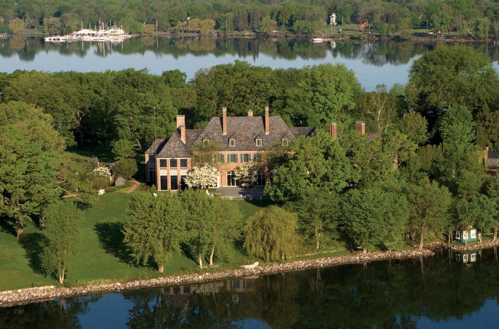 Pillsbury/Jundt house with Lake Minnetonka view