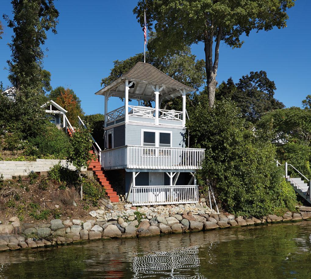 The Abbott Boathouse on Lake Minnetonka.