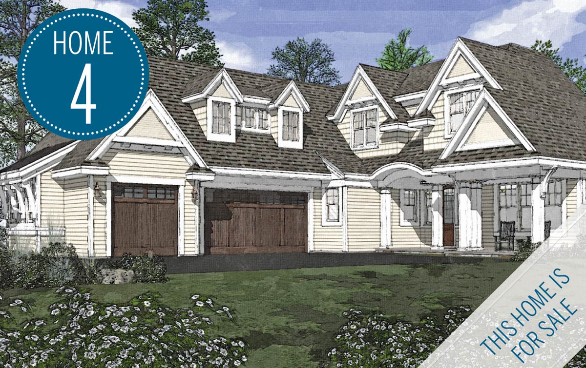 Rendering of City Home's Luxury Home Tour Home