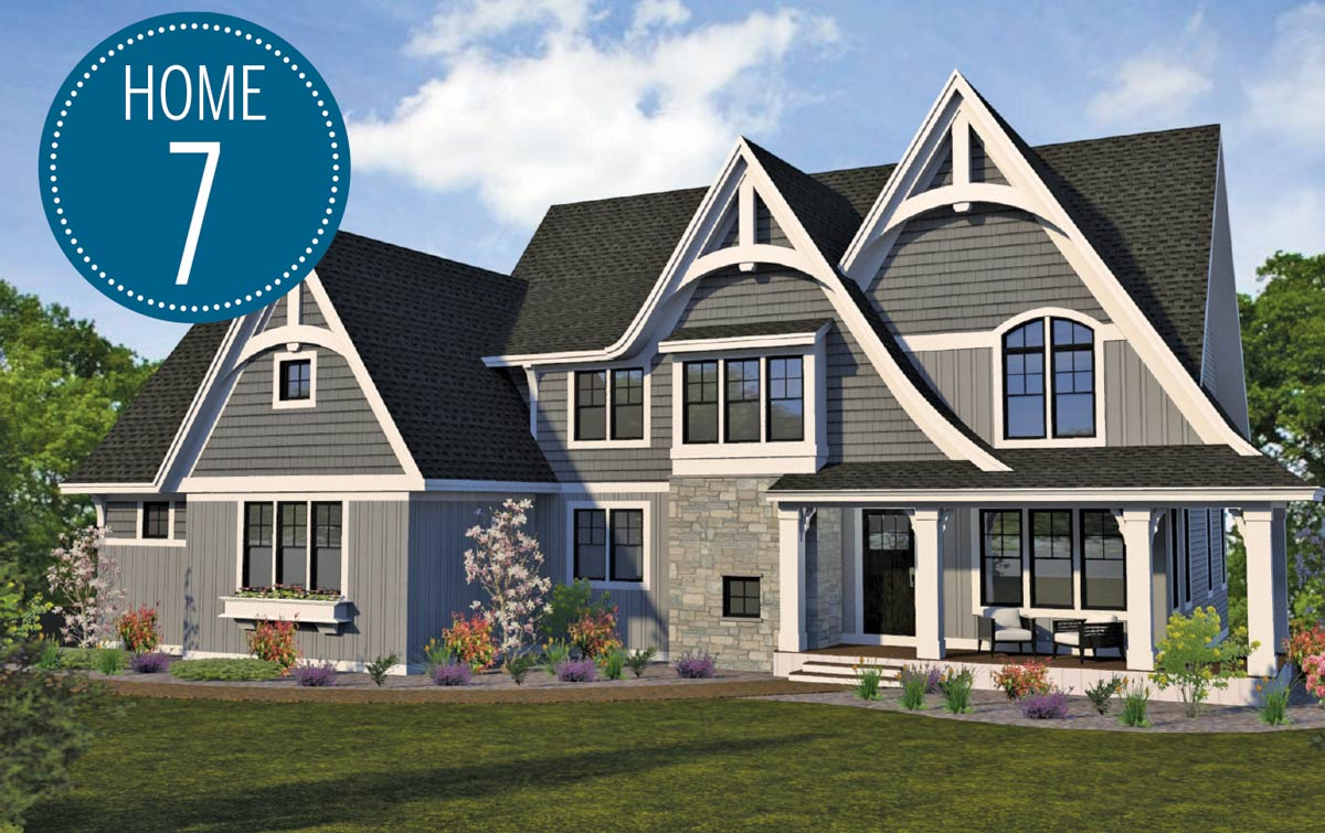 Custom One rendering of home on Luxury Home Tour