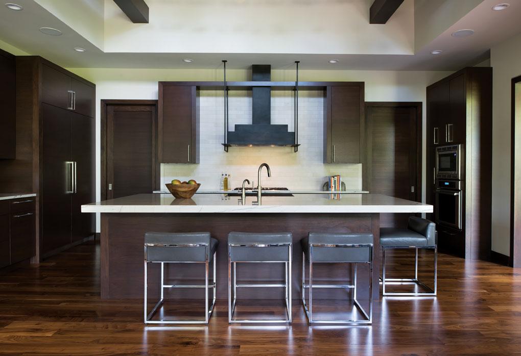 The kitchen inside Greg Jennings' Minnesota home.
