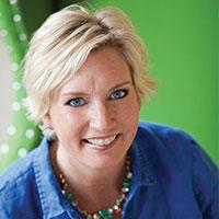 A portrait of Sharon Clasen.