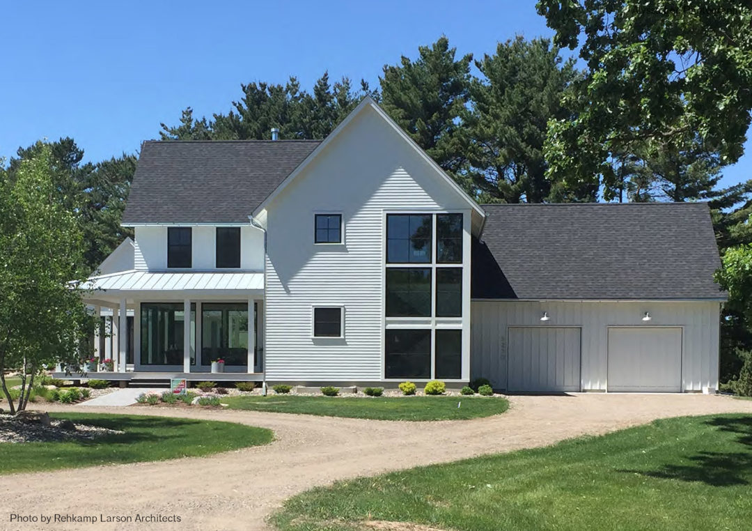 A home by Rehkamp Larson Architects.