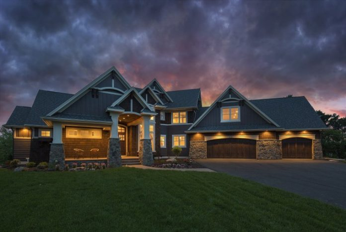 Photo of a home built by Divine Custom Homes