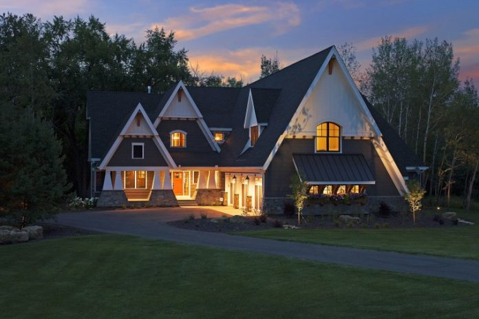 Photo of a home by Hartman Homes Inc