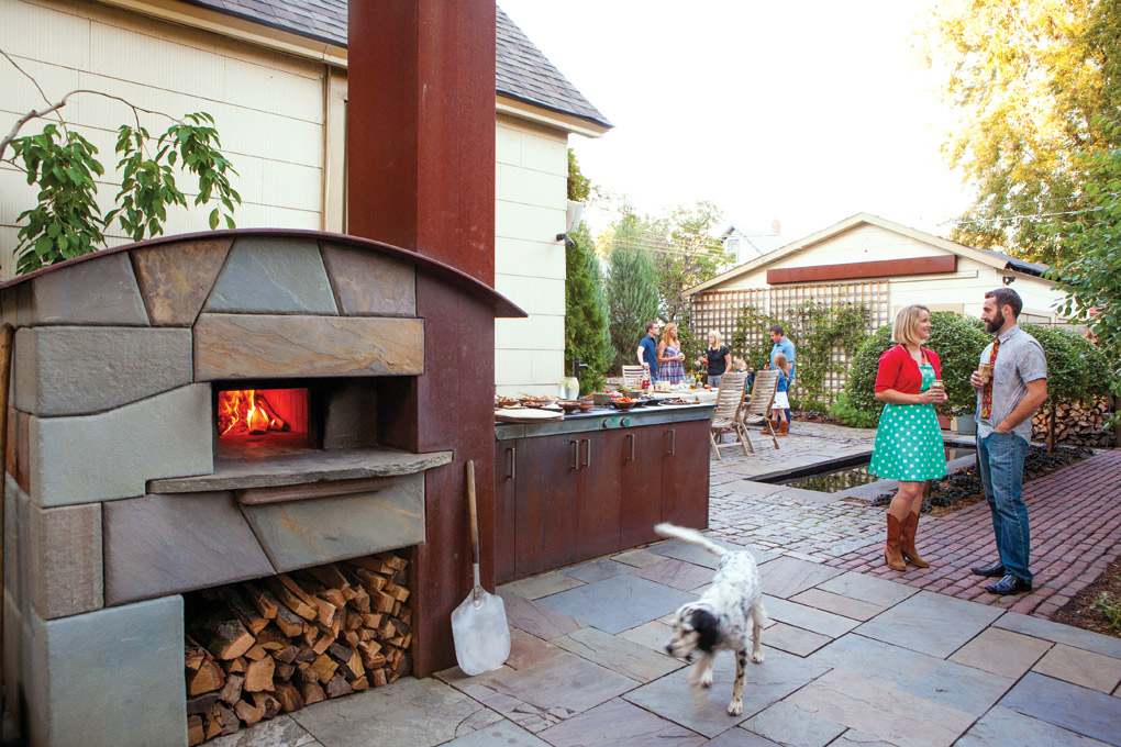 Plan A Backyard Pizza Oven Party