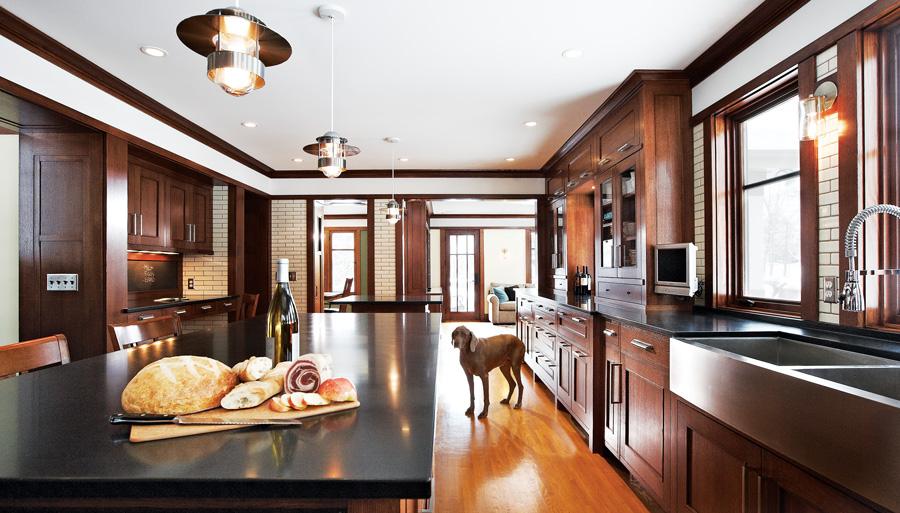 Open design kitchen by Albertsson-Hansen Architects