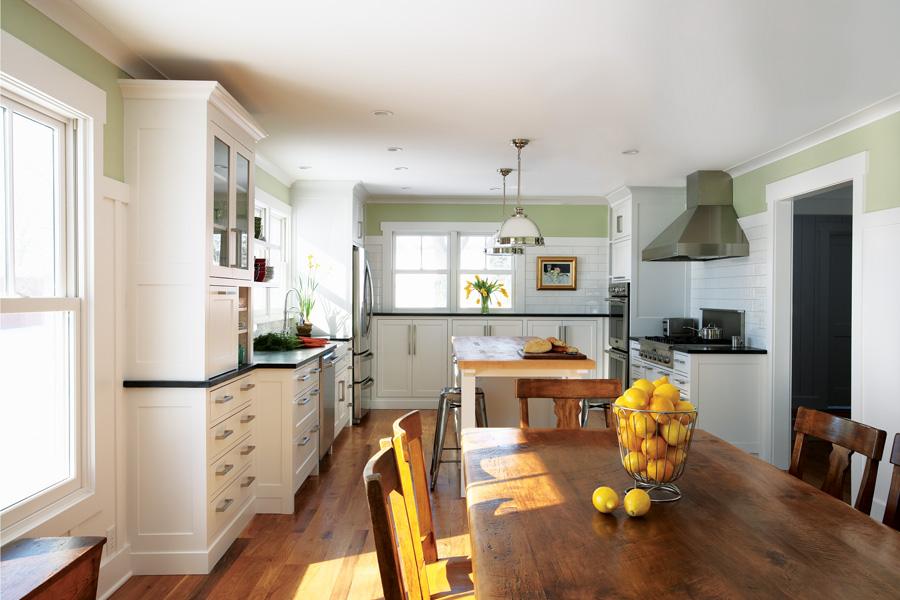 Hastings Farmhouse Kitchen by Todd Hansen