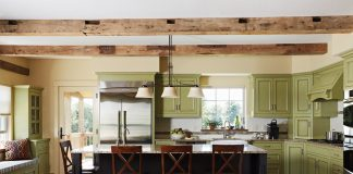 Cathrine Harrington Designs ASID Green Interior Kitchen