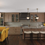 Fiddlehead Design Group ASID kitchen table and island bar